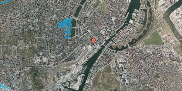 Oversvømmelsesrisiko fra vandløb på Bernstorffsgade 21, 2. , 1577 København V