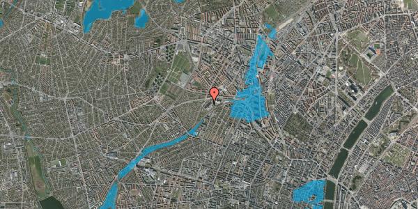 Oversvømmelsesrisiko fra vandløb på Jordbærvej 53, 2400 København NV
