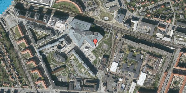 Oversvømmelsesrisiko fra vandløb på Marguerite Vibys Plads 12, st. , 2000 Frederiksberg