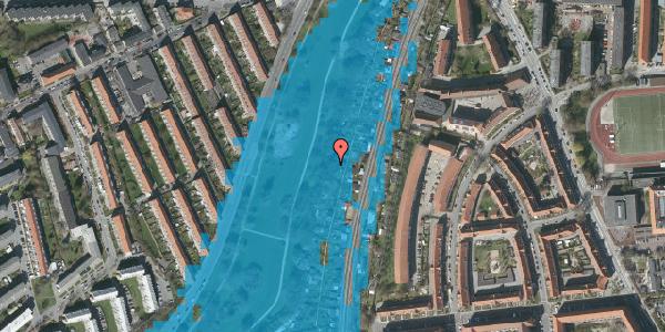Oversvømmelsesrisiko fra vandløb på Hf. Grænsen 32A, 2000 Frederiksberg