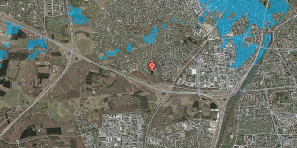 Oversvømmelsesrisiko fra vandløb på Karsevænget 46, 2600 Glostrup