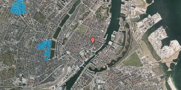 Oversvømmelsesrisiko fra vandløb på Vingårdstræde 4, 1070 København K