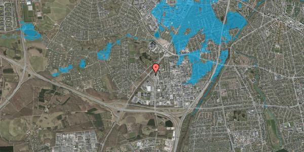 Oversvømmelsesrisiko fra vandløb på Ejby Industrivej 126, 2600 Glostrup