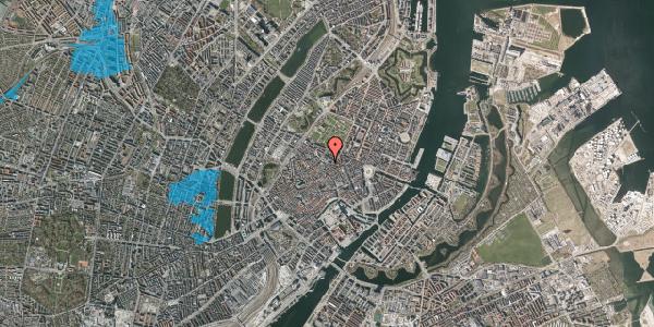Oversvømmelsesrisiko fra vandløb på Pilestræde 59, 1112 København K