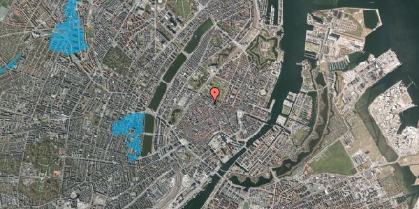 Oversvømmelsesrisiko fra vandløb på Landemærket 27A, 1119 København K