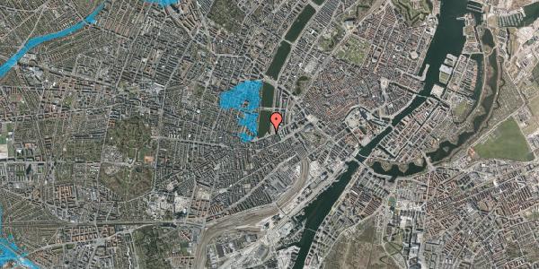 Oversvømmelsesrisiko fra vandløb på Gammel Kongevej 10, 2. , 1610 København V