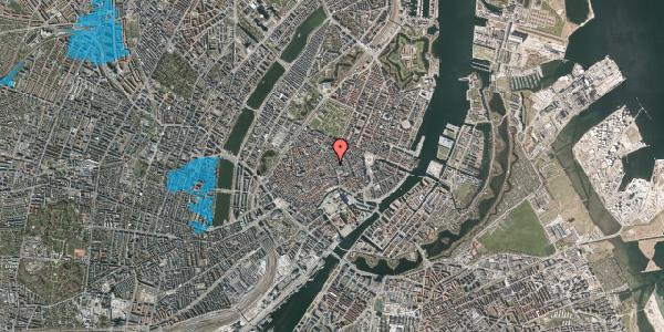 Oversvømmelsesrisiko fra vandløb på Købmagergade 19, st. 2, 1150 København K