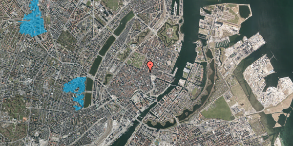 Oversvømmelsesrisiko fra vandløb på Gothersgade 21D, st. , 1123 København K