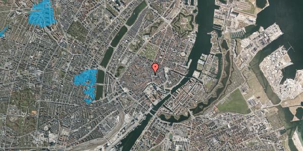 Oversvømmelsesrisiko fra vandløb på Købmagergade 8, 1150 København K