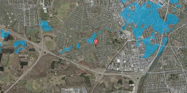 Oversvømmelsesrisiko fra vandløb på Vængedalen 3, 2600 Glostrup