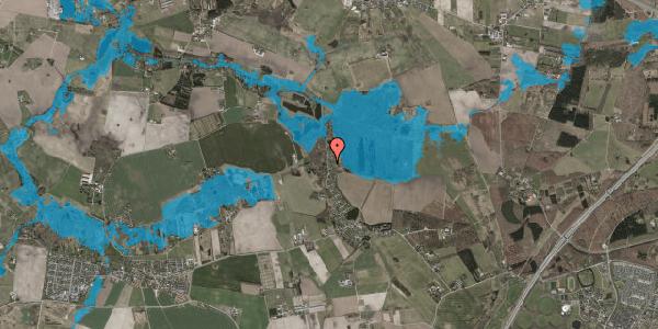 Oversvømmelsesrisiko fra vandløb på Solager 77, 2630 Taastrup