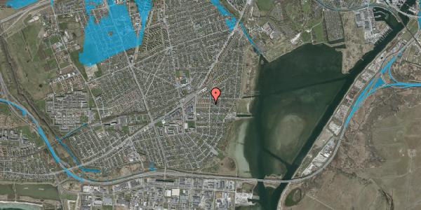 Oversvømmelsesrisiko fra vandløb på Bavnevej 5B, 2650 Hvidovre