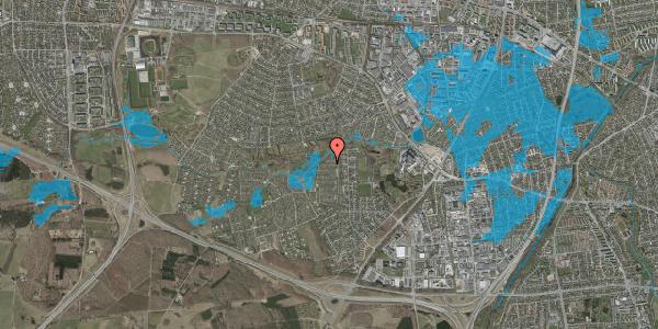 Oversvømmelsesrisiko fra vandløb på Vængedalen 814, 2600 Glostrup