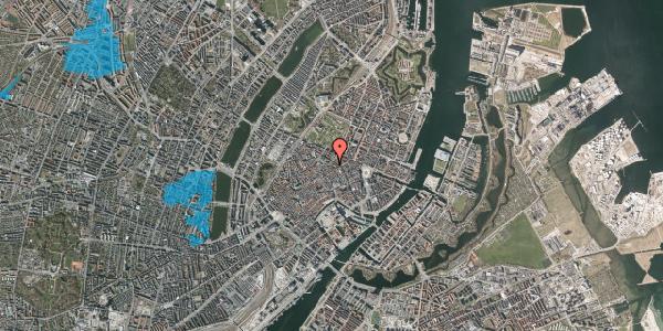 Oversvømmelsesrisiko fra vandløb på Møntergade 6A, 1. , 1116 København K