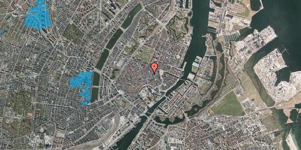 Oversvømmelsesrisiko fra vandløb på Pilestræde 12A, 1112 København K