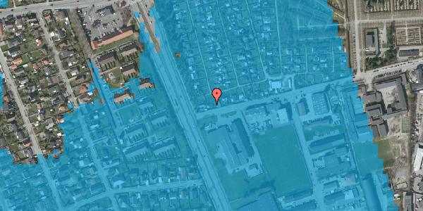 Oversvømmelsesrisiko fra vandløb på Hf. Svarø 13, 2650 Hvidovre
