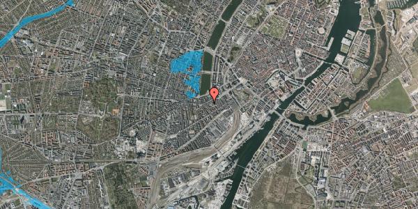 Oversvømmelsesrisiko fra vandløb på Vesterbrogade 35A, 3. tv, 1620 København V