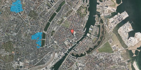 Oversvømmelsesrisiko fra vandløb på Østergade 27, 4. , 1100 København K