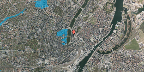 Oversvømmelsesrisiko fra vandløb på Kampmannsgade 4, 2. , 1604 København V
