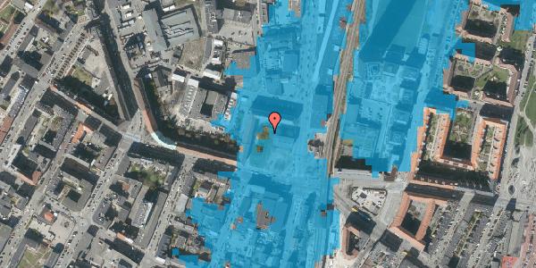 Oversvømmelsesrisiko fra vandløb på Frederikssundsvej 8B, 2400 København NV