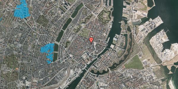 Oversvømmelsesrisiko fra vandløb på Kristen Bernikows Gade 13, 1105 København K