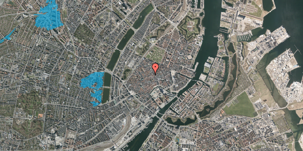 Oversvømmelsesrisiko fra vandløb på Løvstræde 5, 2. , 1152 København K