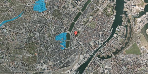Oversvømmelsesrisiko fra vandløb på Vester Farimagsgade 43, 3. , 1606 København V