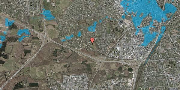 Oversvømmelsesrisiko fra vandløb på Kamillevænget 27, 2600 Glostrup