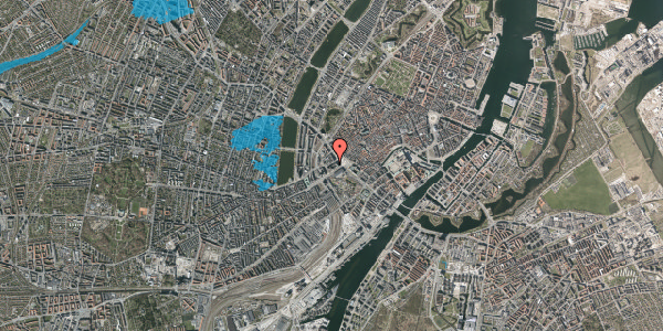Oversvømmelsesrisiko fra vandløb på Jernbanegade 5, 1608 København V