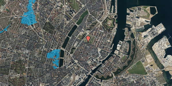 Oversvømmelsesrisiko fra vandløb på Gothersgade 105, 1. th, 1123 København K