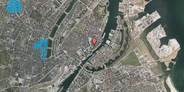 Oversvømmelsesrisiko fra vandløb på Holbergsgade 3, 1. , 1057 København K