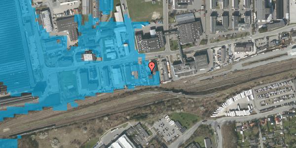 Oversvømmelsesrisiko fra vandløb på Sydvestvej 111D, 2600 Glostrup