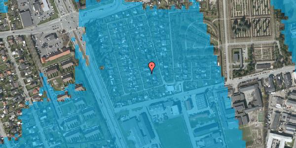 Oversvømmelsesrisiko fra vandløb på Hf. Svarø 46, 2650 Hvidovre