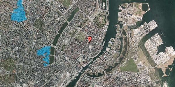 Oversvømmelsesrisiko fra vandløb på Gothersgade 14, 1. th, 1123 København K