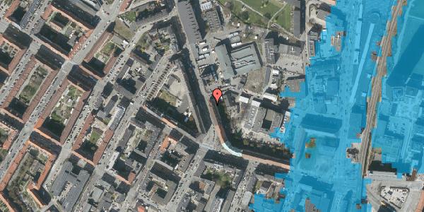 Oversvømmelsesrisiko fra vandløb på Frederiksborgvej 12, 2400 København NV