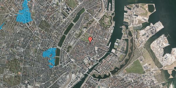 Oversvømmelsesrisiko fra vandløb på Møntergade 21, 1116 København K