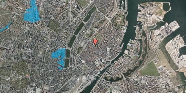 Oversvømmelsesrisiko fra vandløb på Landemærket 9A, 1. , 1119 København K