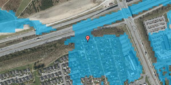 Oversvømmelsesrisiko fra vandløb på Hf. Kettehøj 23, 2650 Hvidovre