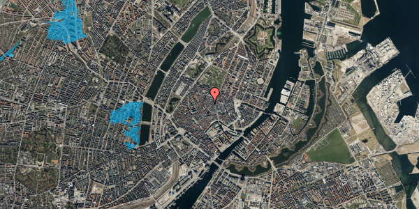 Oversvømmelsesrisiko fra vandløb på Løvstræde 1, st. , 1152 København K