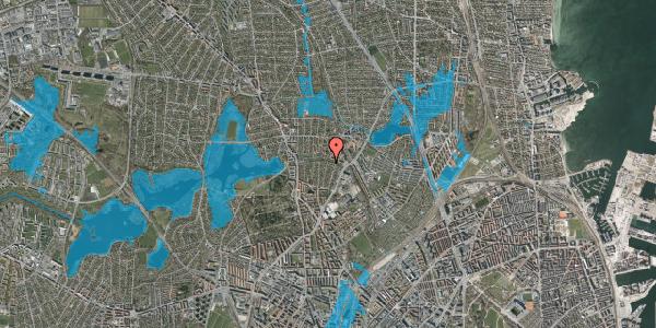 Oversvømmelsesrisiko fra vandløb på Pernillevej 26, 2. , 2400 København NV