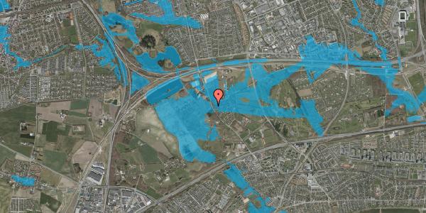Oversvømmelsesrisiko fra vandløb på Vejlegårdsvej 112, 2625 Vallensbæk