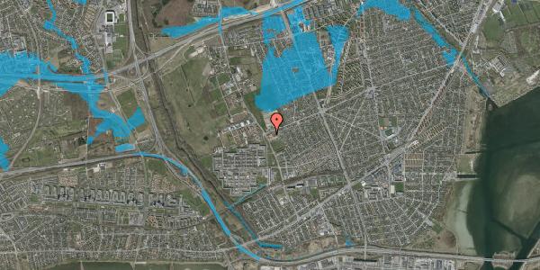 Oversvømmelsesrisiko fra vandløb på Frydenhøjstien 4, 2650 Hvidovre