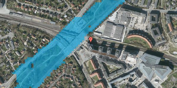 Oversvømmelsesrisiko fra vandløb på Stig Lommers Plads 4, 2000 Frederiksberg