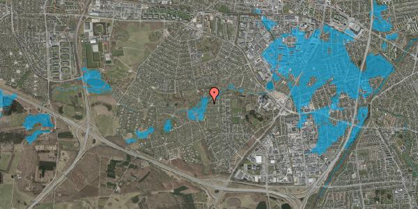 Oversvømmelsesrisiko fra vandløb på Vængedalen 828, 2600 Glostrup