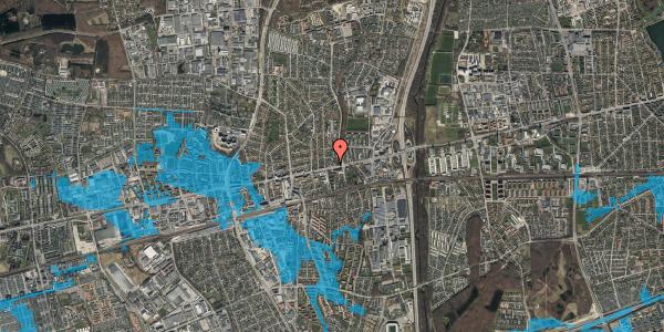 Oversvømmelsesrisiko fra vandløb på Hovedvejen 56, 2600 Glostrup