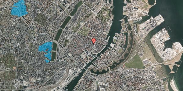 Oversvømmelsesrisiko fra vandløb på Lille Kongensgade 17, 1074 København K