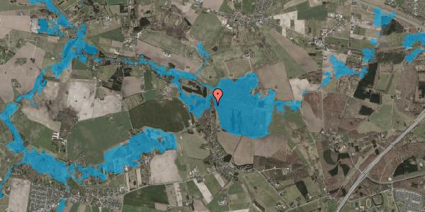 Oversvømmelsesrisiko fra vandløb på Solager 115, 2630 Taastrup