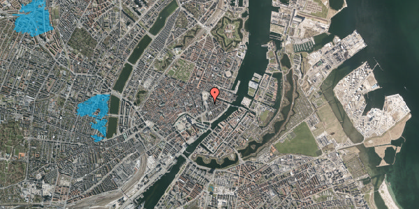 Oversvømmelsesrisiko fra vandløb på Tordenskjoldsgade 1, 1. 2, 1055 København K