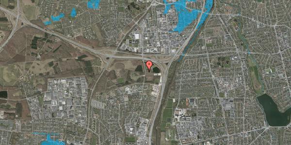 Oversvømmelsesrisiko fra vandløb på Oxbjergvej 22, 2600 Glostrup