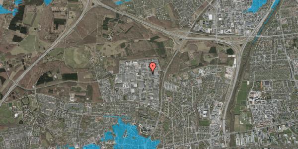 Oversvømmelsesrisiko fra vandløb på Smedeland 46B, 2600 Glostrup